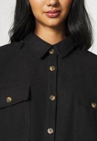 Noisy May - NMFLANNY LONG SHACKET - Skjorte - black - 7
