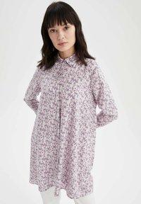 DeFacto - Button-down blouse - ecru - 0