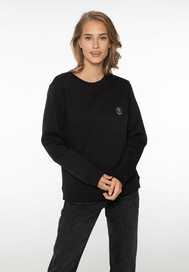 TATIANA - Sweater - true black