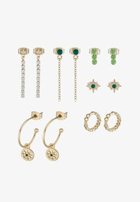 Pieces - PCEMSE EARRINGS 6 PACK SET - Kolczyki - gold colour - 3