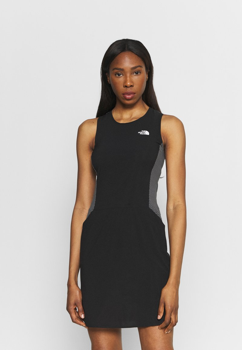 The North Face - CIRCADIAN DRESS - Jersey dress - black