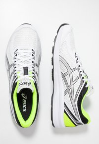 ASICS - GEL-BRAID - Neutral running shoes - real white/silver - 1