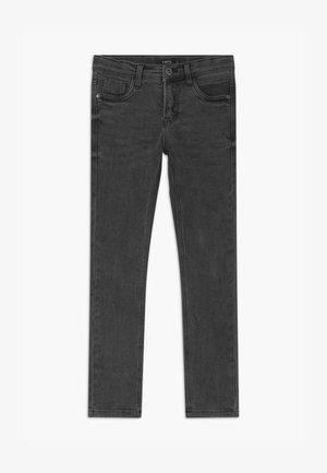 Slim fit jeans - dark grey denim