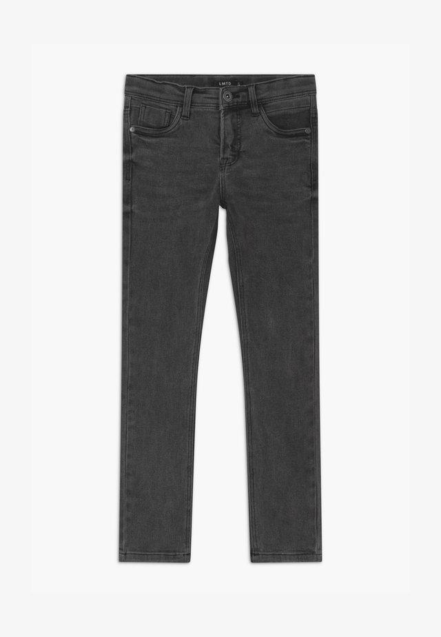 Jean slim - dark grey denim