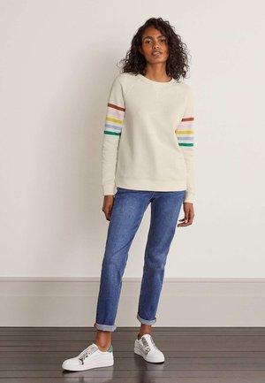 DAS - Sweatshirt - naturweiß