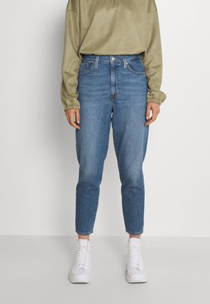 HIGH WAISTED TAPER - Jeans Tapered Fit - eco blue