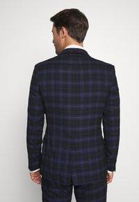 Ben Sherman Tailoring - CHECK SUIT - Completo - dark blue - 3