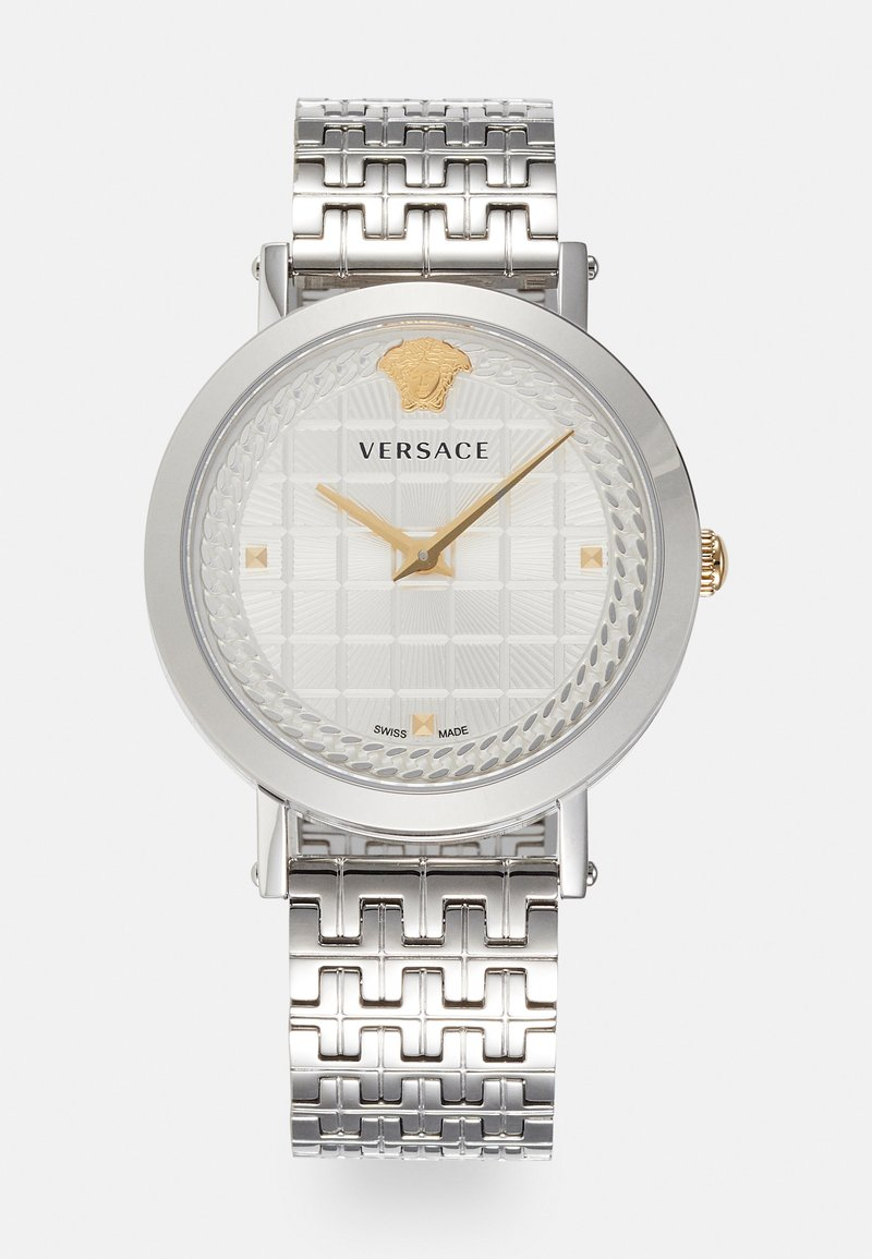 Versace Watches - COIN ICON - Watch - silver-coloured