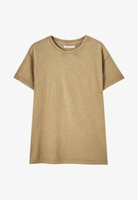 PULL&BEAR - T-shirt con stampa - brown - 4