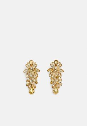 PCLEEN EARRINGS - Orecchini - gold-coloured/champagne