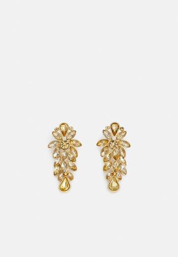 PCLEEN EARRINGS - Earrings - gold-coloured/champagne