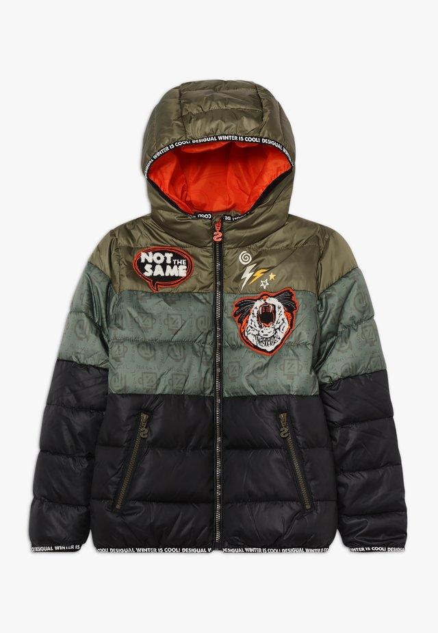 PLATON - Winter jacket - kaki