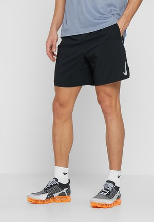 M NK FLEX STRIDE SHORT 7IN BF - Urheilushortsit - black/silver