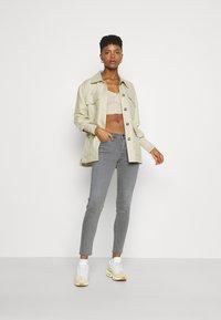 Lee - SCARLETT - Jeans Skinny Fit - grey holly - 1