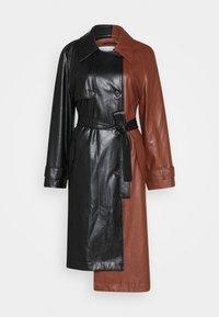 DESIGNERS REMIX - TALIA - Trenchcoat - black/brown - 5