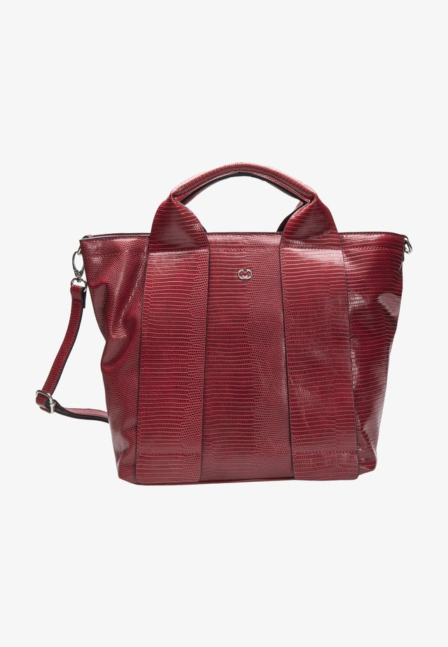 FULL LEAVES - Borsa a mano - red