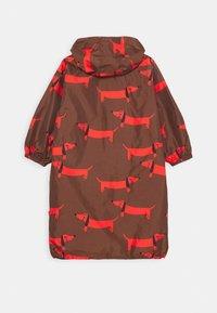 Mini Rodini - DOG PRINTED UNISEX - Outdoor jacket - red - 1