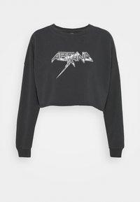 Abrand Jeans - OVERSIZED CROP - Sweatshirt - black fade - 5