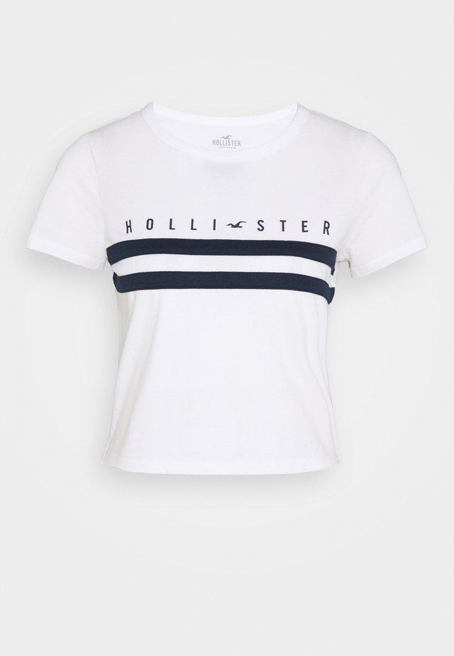 TUCKABLE SPORTY - T-shirt imprimé - white