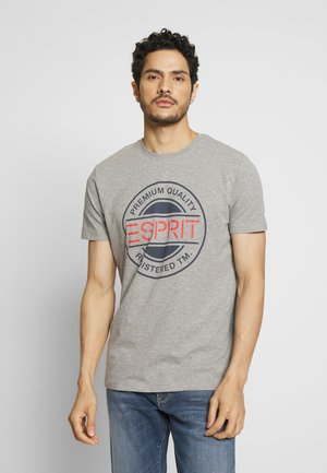 T-shirt z nadrukiem - medium grey