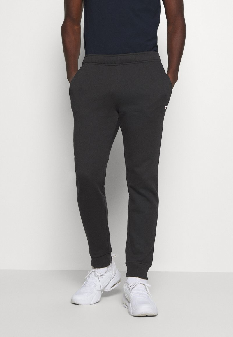 Champion - LEGACY CUFF PANTS - Tracksuit bottoms - black