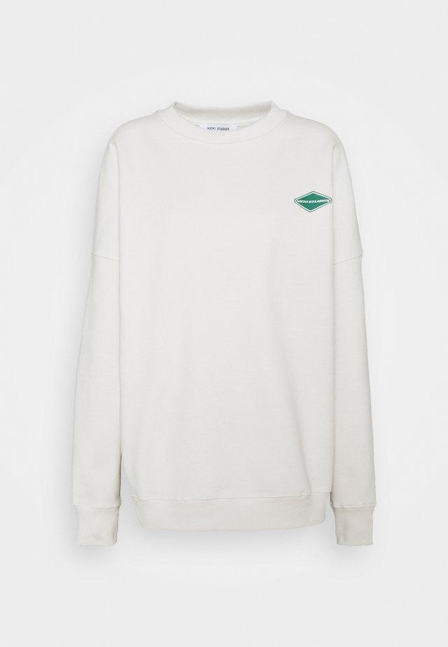 LOGOCOLLAGECREWNECK - Sweatshirt - salt