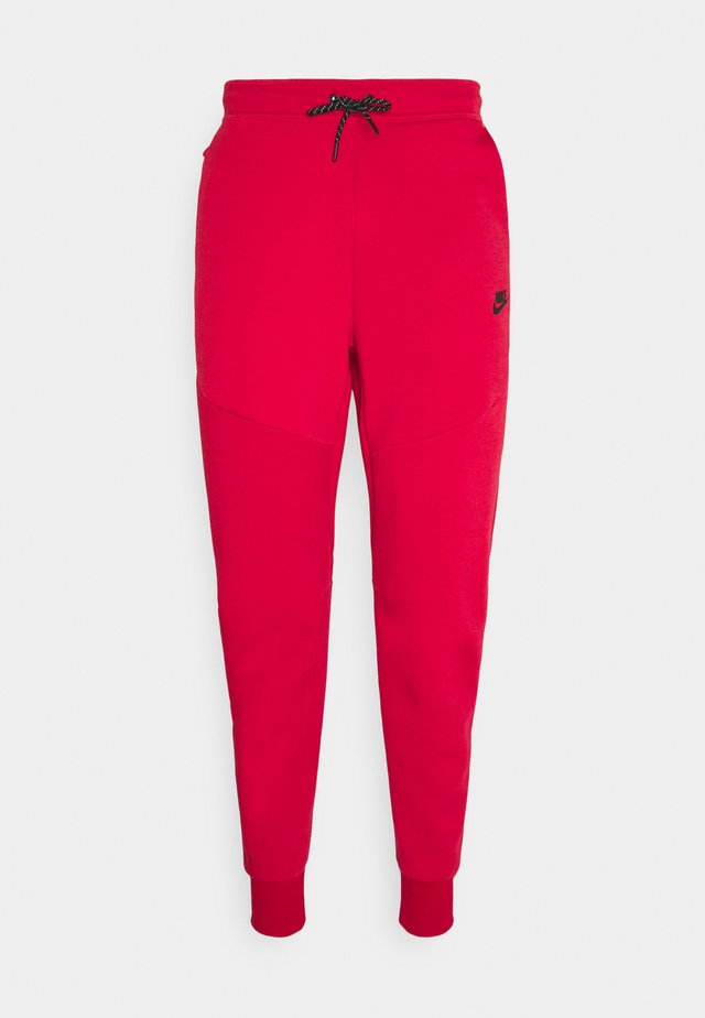 TONE - Tracksuit bottoms - gym red/fusion red