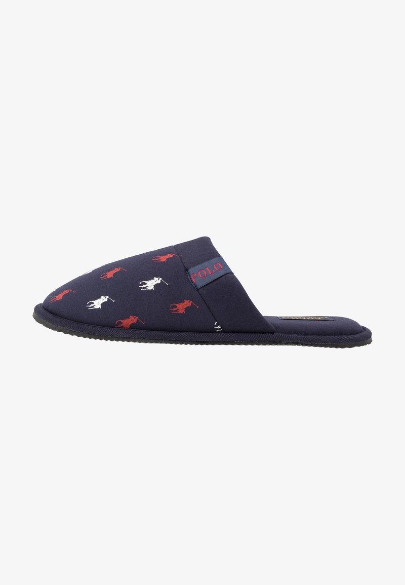 Polo Ralph Lauren - SUMMIT SCUFF - Domácí obuv - navy