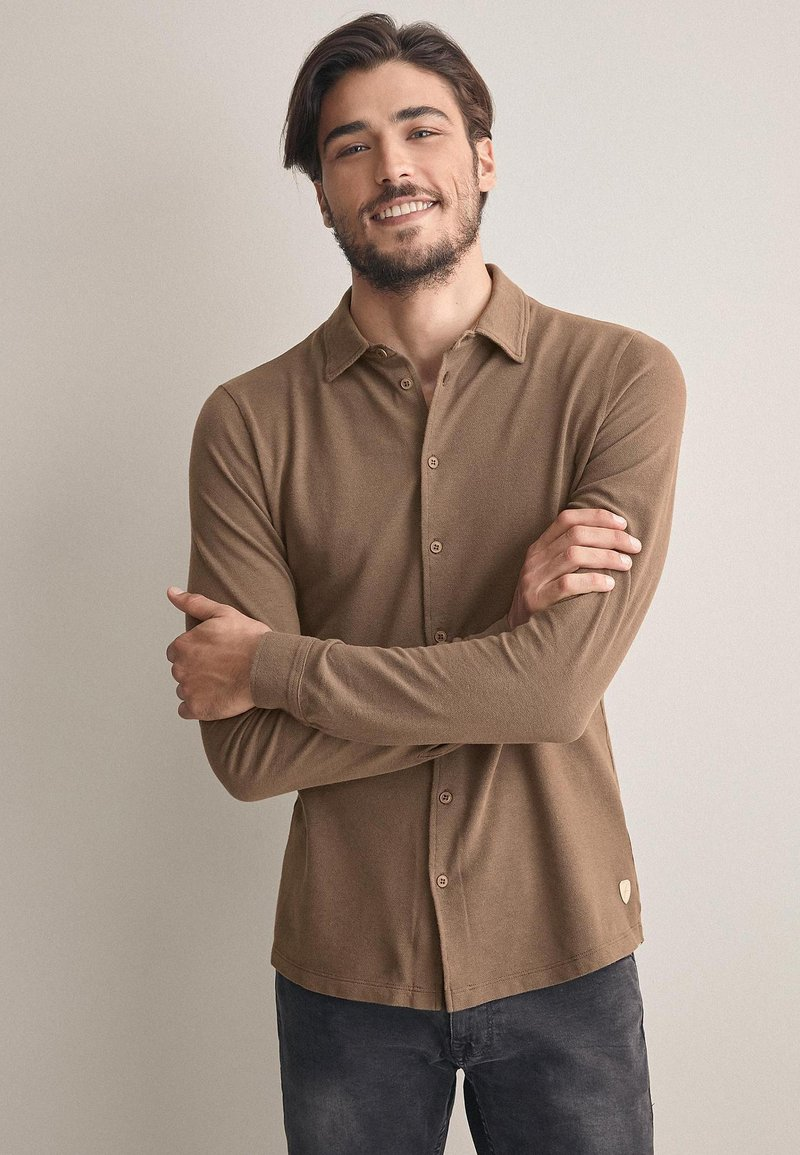 Falconeri - Shirt - brown