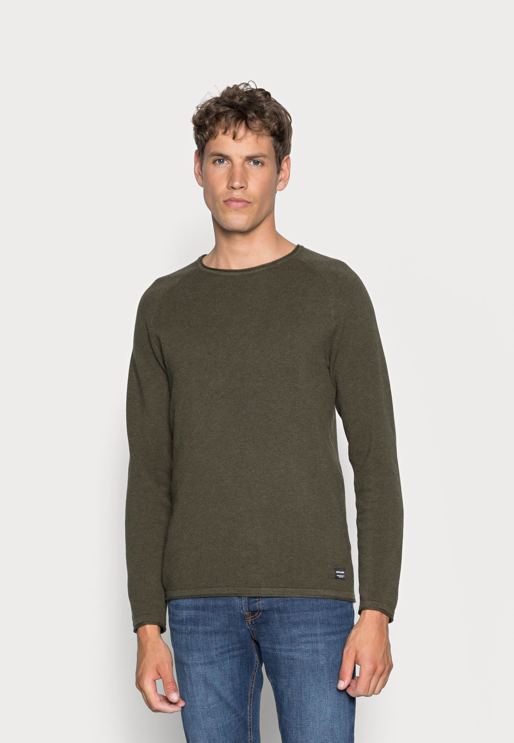 Homme JJEHILL CREW NECK - Pullover