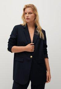 Violeta by Mango - DEAN - Short coat - dark navy - 0