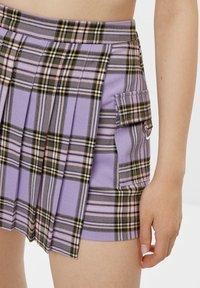 Bershka - Wrap skirt - mauve - 3