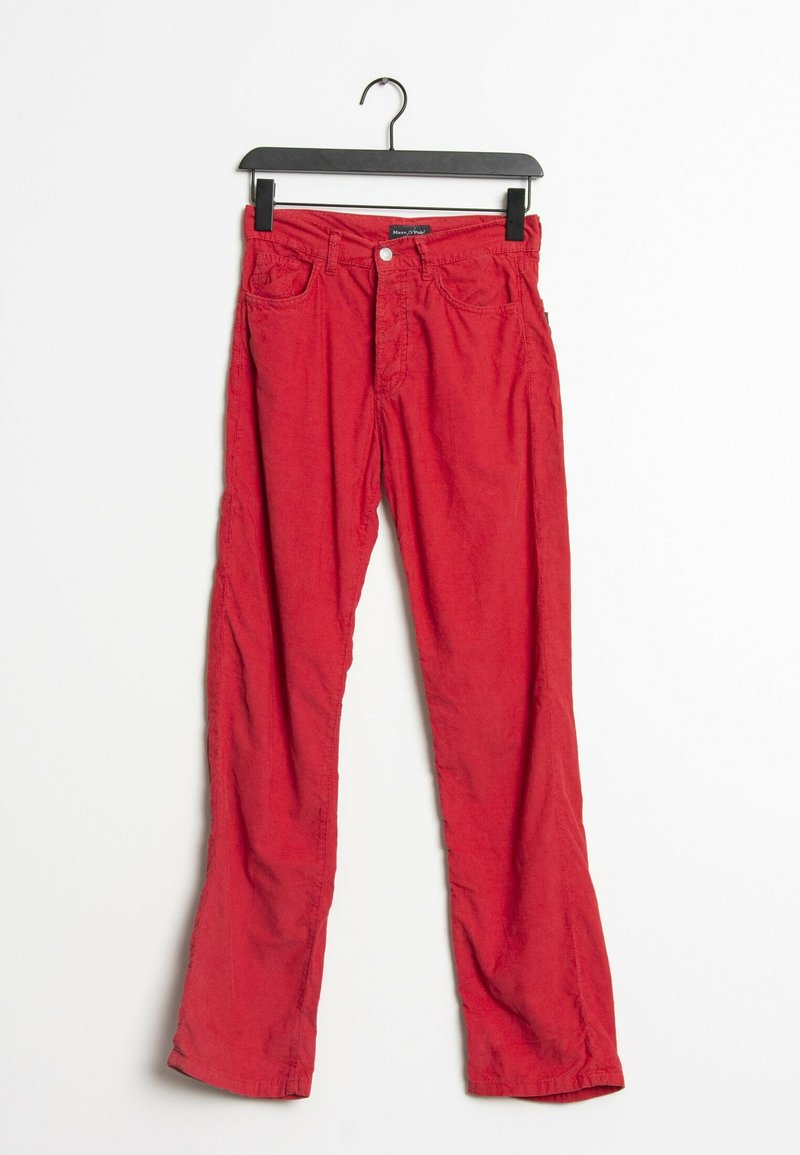 Marc O'Polo - Trousers - red