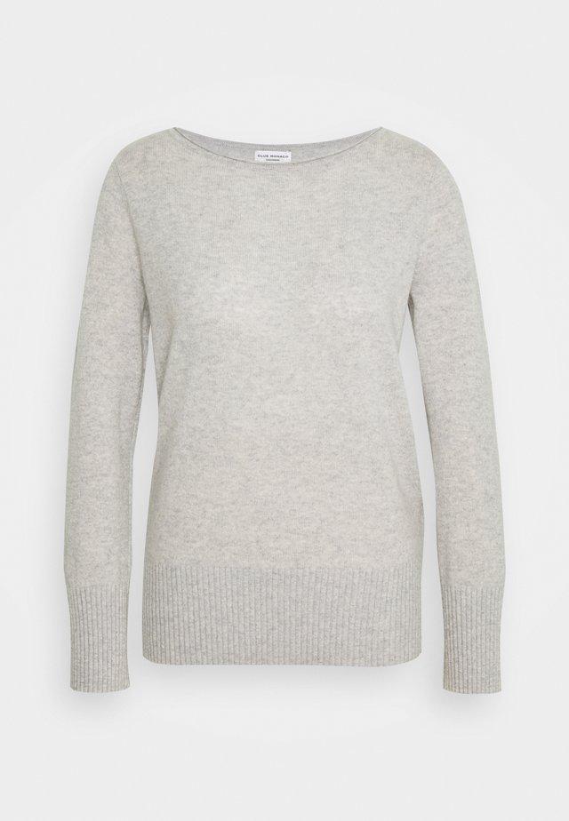 ESSENTIAL OPEN  - Stickad tröja - light heather grey