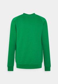adidas Originals - TREFOIL CREW UNISEX - Bluza - green/white - 1