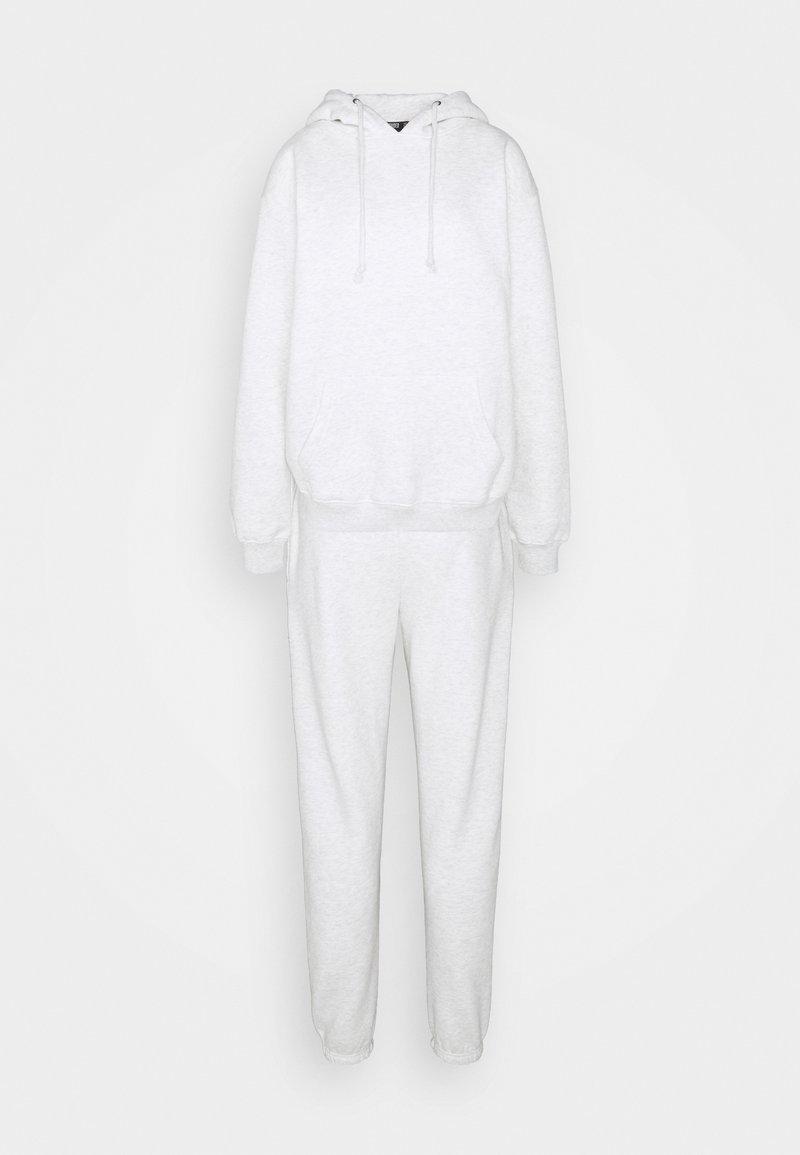 Missguided Tall - HOODIE SET - Hoodie - white