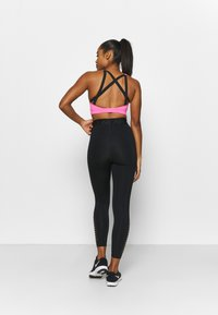 Nike Performance - IMPACT STRAPPY BRA - High support sports bra - pink glow/black - 3