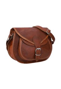 Gusti Leder - Across body bag - brown - 6