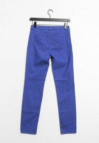 Oui - Trousers - blue - 1