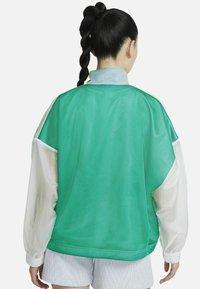 Nike Sportswear - W NSW TCH PCK - Windbreaker - neptune green/white/black - 1