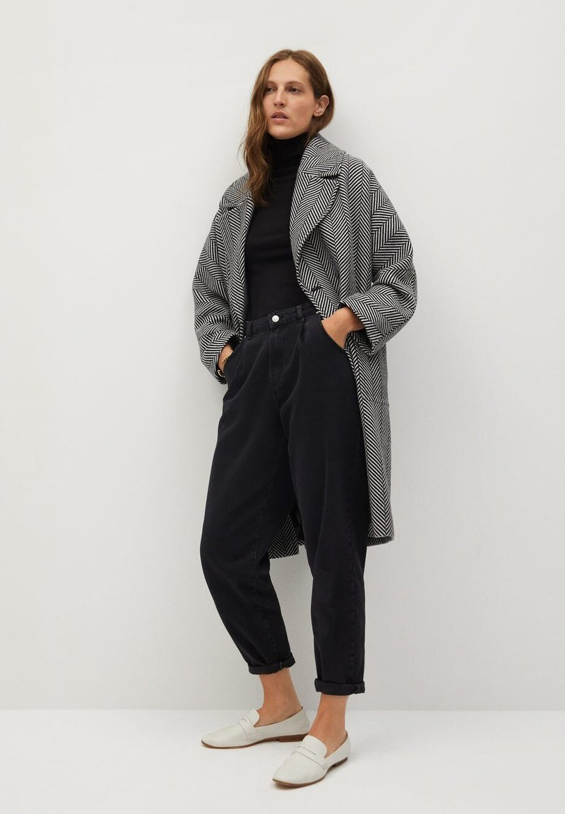 Mango - ZIMMER - Manteau classique - noir