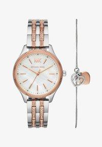 Michael Kors - LEXINGTON SET - Watch - silver-coloured/rose gold-coloured - 1