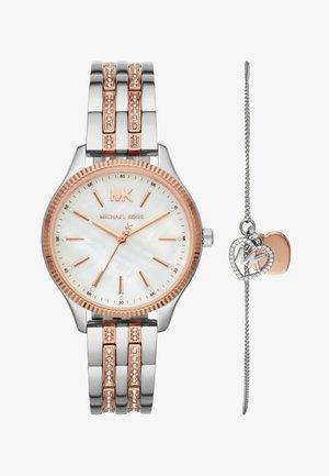 LEXINGTON SET - Watch - silver-coloured/rose gold-coloured