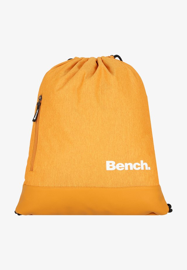 CLASSIC  - Drawstring sports bag - ocker