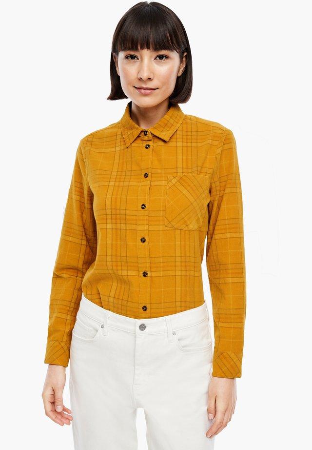 Skjorta - yellow check