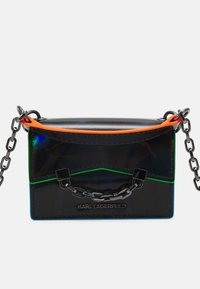 KARL LAGERFELD - SEVEN IRIDESCENT NANO - Handbag - black - 3