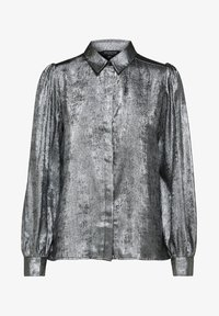 Selected Femme - Button-down blouse - silver - 5