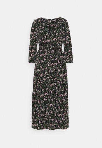 ONLPELLA DRESS TALL - Žerzejové šaty - black
