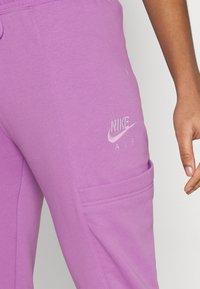 Nike Sportswear - AIR PANT - Tracksuit bottoms - violet shock - 3