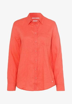 Overhemdblouse - light red